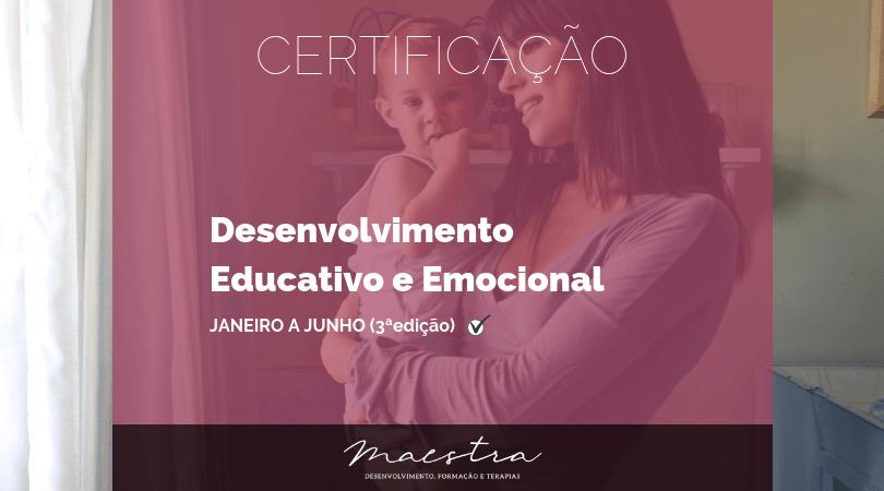 Certificação Desenvolvimento Educativo e Emocional