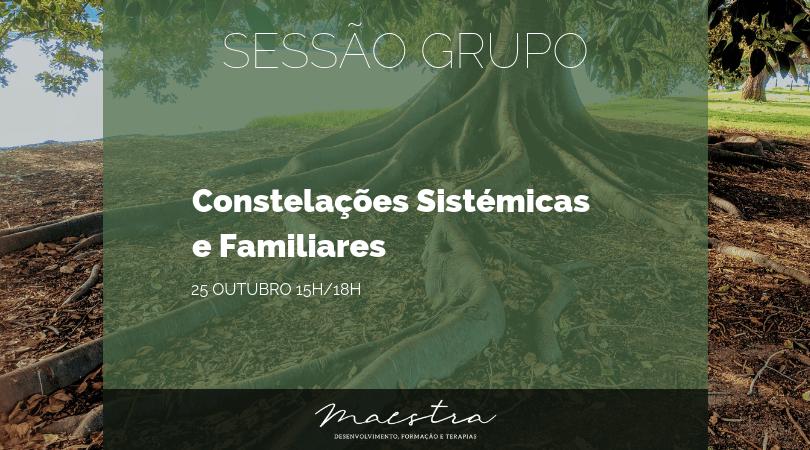 Sessão de Grupo Constelações Familiares e Sistémicas